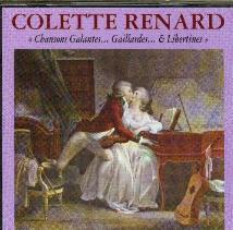 Liste compl�te des chansons du double CD Colette Renard