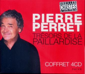 Pierre Perret Coffret 4 CD