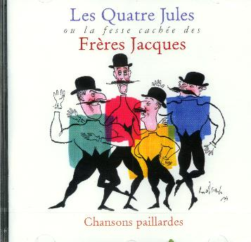 Les Quatre Jules : Liste complte des chanson et tlcharger le CD par Internet