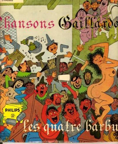 T�l�charger l'int�grale des chansons gaillardes, par les Quatre barbus